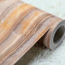 5m Self Adhesive Marble Wallpaper Contact Paper Kitchen Furniture  Film Sticker