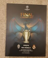2017 Champions League Final Ticket Real Madrid v Juventus