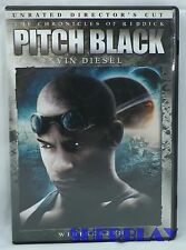 Pitch Black Dvd 2004 Unrated Director's Cut Widescreen Edition
