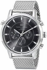 Reloj Tommy Hilfiger Watch Man Silver Plata Hombre Steel Crystal Bracelet Hand