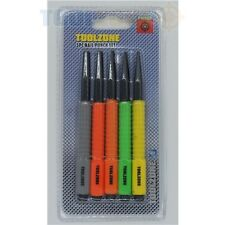 5 Piece Colour Coded Nail Punch Set 1.6mm, 2.4mm, 3.2mm, 4mm & 4.8mm
