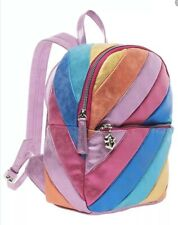 NWT Betsey Johnson Strype Hype Multi Mini Backpack BJ92915A
