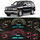Red Led Dash Cluster Instrument Gauge Replacement Light Kit Fits 2000-2002 Tahoe
