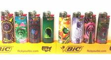 BIC 2019 Special Edition Prismatic Series Lighters Set of 8 Lighters