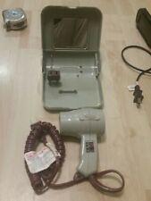 Vintage Conair Free N' Easy hair dryer with case