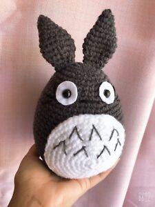 Anime Movie My Neighbor Totoro Gray Soft Plush Doll Gift Toy Stuffed 20cm