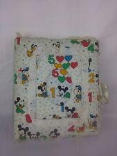 Disney Mickey Mouse Goofy Donald Duck Baby Memories Photo Album