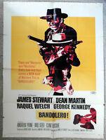 Filmplakat Bandolero James Stewart Raquel Welch Dean Martin US 1968