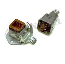 6-pin USSR Aviation Plug Socket Panel Connector Male Female Set