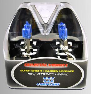 x2 H3 12V 55W pair Fog Light Xenon HID Super White Plug and Play Bulbs Lamp Y558