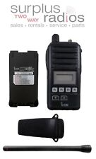 Icom F50 VHF 136-174mhz 5W 128CH Submersible Radio Police EMS HAM Compact