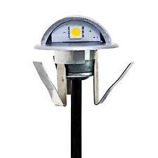 Punto Luce Faretto da Incasso a 90 Gradi Segnapasso LED 0,4W Luce Calda Mini