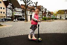 GinkGo Kinder Tretroller Kickscooter Cityroller 3-Rad Scooter LED-Räder 2 Jahre
