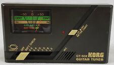 Vintage KORG GT-60X Guitar Tuner.