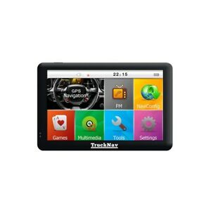 """New 2020 Mapping 5"""" Truck Sat Navs now with 16gb Card + 2nd set of Maps UK-KEY"""
