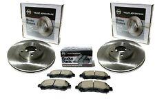 2008-2011 Nissan Murano Front Left & Right Disc Rotors w/ Front Brake Pad VA Kit