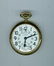 Pocket-watch: Waltham 21 Jewls,5 position,with power reserve..