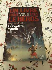 LDVELH - LE GOUFFRE MAUDIT - LIVRE DONT VOUS ETES LE HEROS