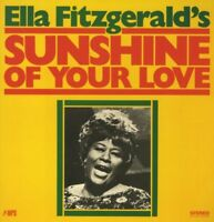 ELLA FITZGERALD - SUNSHINE OF YOUR LOVE  VINYL LP NEU