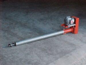 "8"" Bulk Tank Grain or Feed Conveyor Auger 17' long"