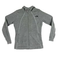 The North Face Crescent Full Zip Hoodie Heathered Gray Women's Small NWOT