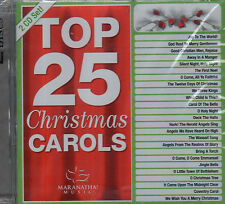 """TOP 25 CHRISTMAS CAROLS"" Brand NEW Double CD MARANATHA Singers & Music Group"