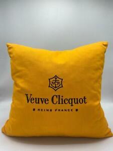 Veuve Clicquot VCP Ponsardin Yellow Kissen 40 x 40 cm Champagner Bar Zimmer Deko