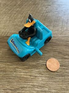 Looney Tunes Back In Action Daffy Duck Wind Up Car Toy Wendys 2003 Back Cart 5