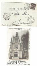 2) 1900 World Exhibition during Olympic Games card cancel Paris Expo. PRESSE