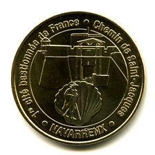 64 NAVARRENX Chemin de Compostelle, 2010, Monnaie de Paris