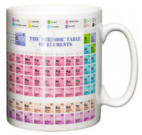"Science Study Mug ""The Periodic Table of Elements"" Teacher Student Learning Gift"