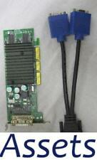 NVIDIA Quadro NVS 280 Low Profile AGP 128MB VIDEO GRAPHICS CARD+DMS-59 VGA CABLE
