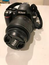 Nikon SLR D60 with lens and 8GB SD card. Good for beginners