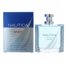 Nautica Voyage Sport 3.4 oz EDT spray mens cologne 100 ml NIB