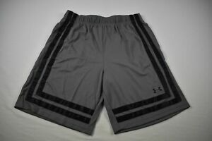 Under Armour Shorts Men's Gray/Black Poly NEW Multiple Sizes