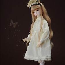 Dollmore 1/4 BJD OOAK doll clothes MSD SIZE - Sarangkot Dress (Ivory)