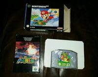 Mario 64 CIB 👀 VGC N64 NINTENDO 64 Game complete boxed See Pics