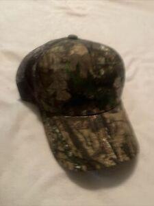 Mossy Oak Camo Baseball Cap Hunting Fishing Hat Mesh Panel Back One Size