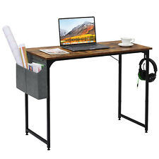 Office Home PC Computer Desk Writing Study Table Shelf with Storage Bag & Hook