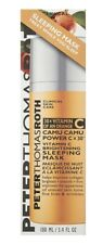 Peter Thomas Roth Camu Camu Brightening Sleeping Mask 3.4 Oz New MSRP $82