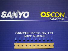 10pcs Sanyo OS-CON 10µF/10V