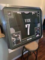 Michael Vick Authentic Autograph Framed Jersey COA JSA Eagles NFL