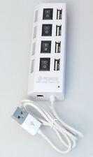 (PRL) ADATTATORE ADAPTER 4 PORTS USB 2.0 HIGH SPEED HUB PERSONAL COMPUTER PC