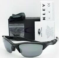NEW Oakley Half Jacket 2.0 sunglasses Black Iridium Polarized 9153-04 AUTHENTIC