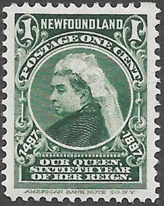 Newfoundland Scott Number 61 SG 66 VF NH Cat $5