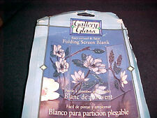 Gallery Glass Magnolia Folding Screen Blank Easy to Lead Patterns Instructions