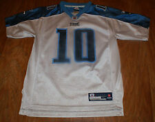 Tennessee Titans Reebok NFL Jersey Youth Size L RN   67891 Number 10 4941c2c3a