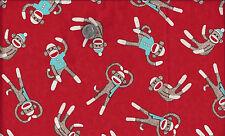 Socky the Sock Monkey I Spy Tosses By the Fat Quarter
