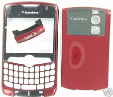 No-Logo Red RIM Blackberry Curve 8330 Housing Case Verizon Sprint Alltel Telus