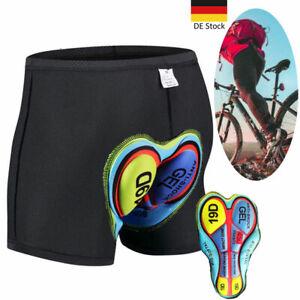Radunterhose Herren/Damen Fahrradhose Fahrradshort Radlerhose MTB Short Kurze DE